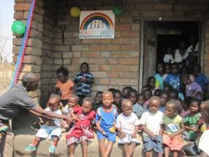 Wiedereröffnung des Kindergartens